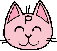 ピーネコ笑顔